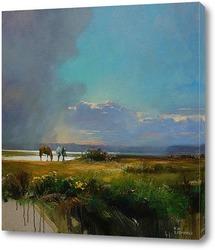 Картина Перед дождем