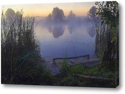 Постер Река в тумане