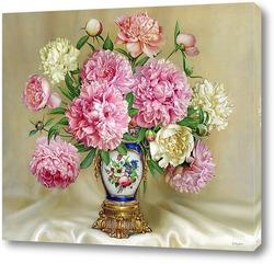 Картина Букет В антикварной вазе