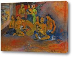 Три таитянские женщины