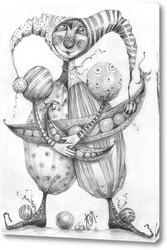 Картина Шут гороховый