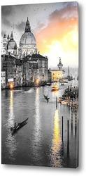 Постер Закат в Италии