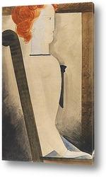 Картина Сидящая, 1929