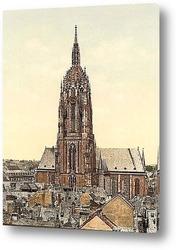 Постер Собор, Франкфурт-на-Майне, Германия. 1890-1900 гг