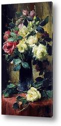Картина художника 19-20 веков, натюрморт
