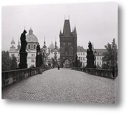 Постер Карлов Мост в Чехии.