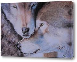 Постер Волки