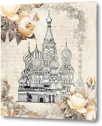 Постер Московский Кремль