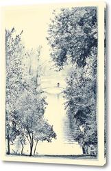 Картина Bridge in The Park