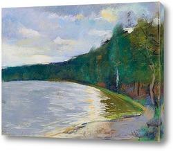 Картина Берег озера