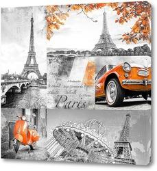 Постер Путешествие в Париж