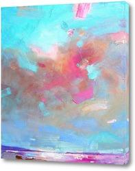 Постер Небо над озером