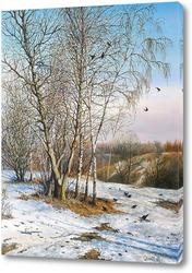 Картина Ранняя весна в Коломенском