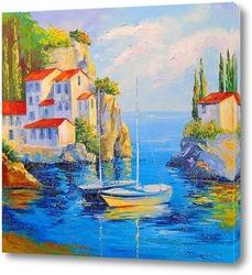 Картина Уютная гавань