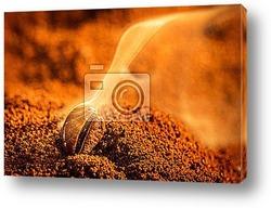 Сожженное кофейное зернышко
