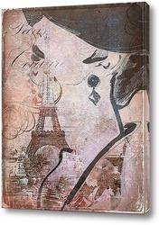 Картина Воспоминания о Париже