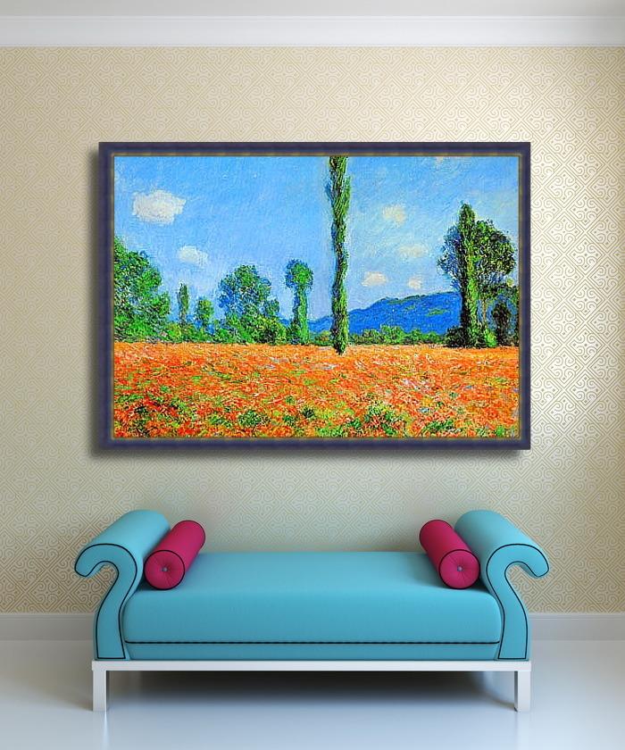 Картины в интерьере гостиной и зала: как выбрать и повесить