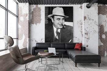 Модульная картина Аль Капоне-1