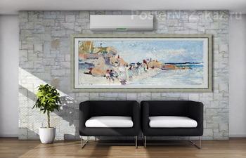 Модульная картина Летняя пора в Сорренто