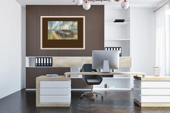 Модульная картина Испано-Суйса на кипарисовой аллее