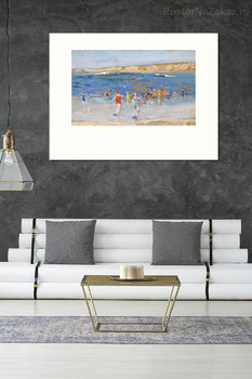 Модульная картина Пляж в Санта-Монике