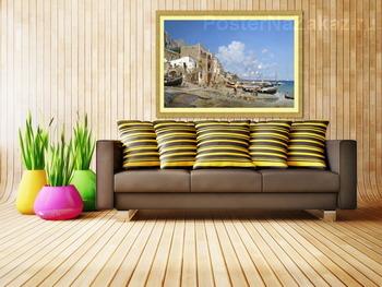 Модульная картина Капри
