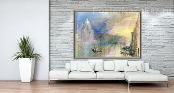 Модульная картина Венеция, Большой канал с Санта-Мария-делла-Салюте
