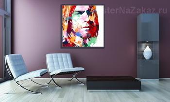 Модульная картина Kurt Cobain