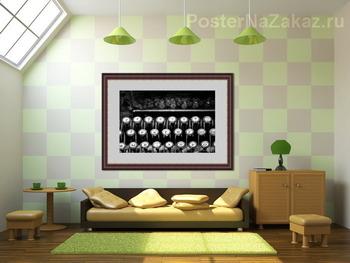 Модульная картина клавиши