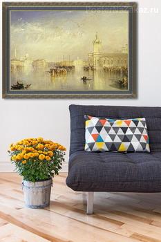 Модульная картина Доджено, Сан Джорджо и Цителла. В шаге от Европы.