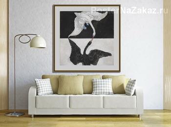Модульная картина Группа IX, Лебедь, № 1
