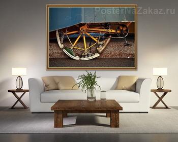 Модульная картина Урбанометрия. ВелосиКед.