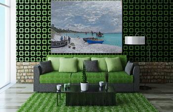 Модульная картина Пляж в Сент-Адресс