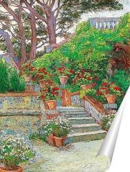 Постер Сад в Brioni