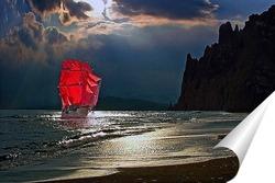 Постер Алые паруса Веры, Надежды и Любви