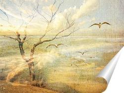 Постер Морской пейзаж