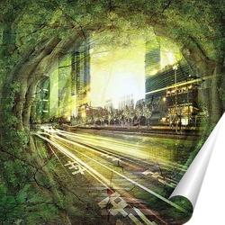Постер Портал в город