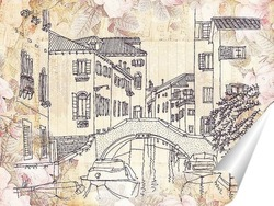 Постер Мост в Венеции