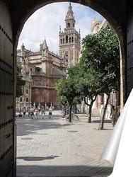 Постер Колокольня кафедрального собора в Севилье