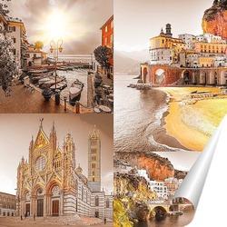 Постер Рассвет в Италии