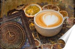 Постер Время для кофе