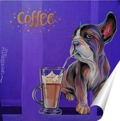 Постер Время кофе
