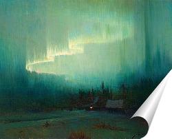 Постер Северное сияние