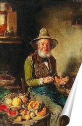 Постер Продавец фруктов