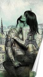 Постер Страстный Париж
