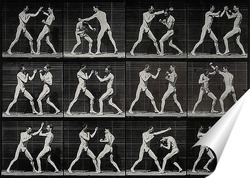 Постер Мужчины боксёры