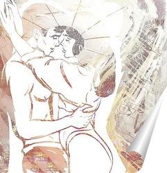 Постер Влюбленная парочка