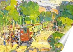 Постер Цыганский поезд