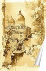 Постер Красота Венеции