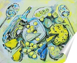 Постер Сырный стол